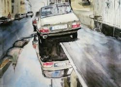 «La Flaque» exposée à New Delhi !