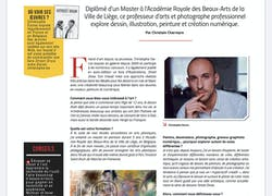 Interview artistes magazine