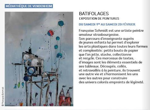 Exposition Batifolages