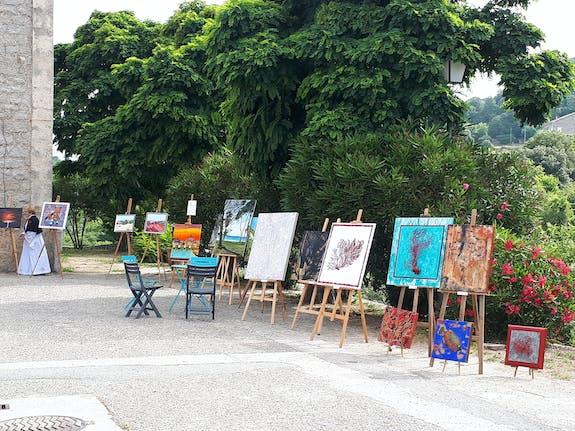 22Ème exposition d'art et d'artisanat à Coti-Chiavari