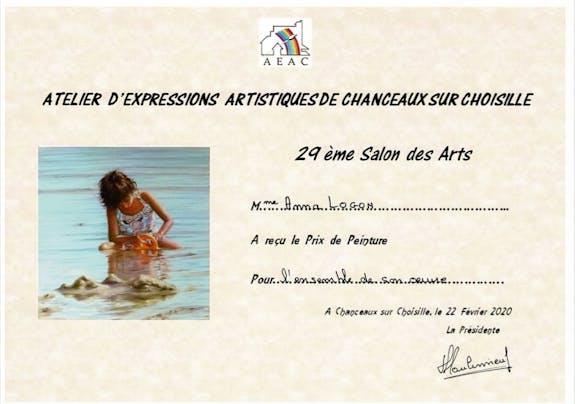 Prix Peinture à Chanceaux sur Choisille (37)
