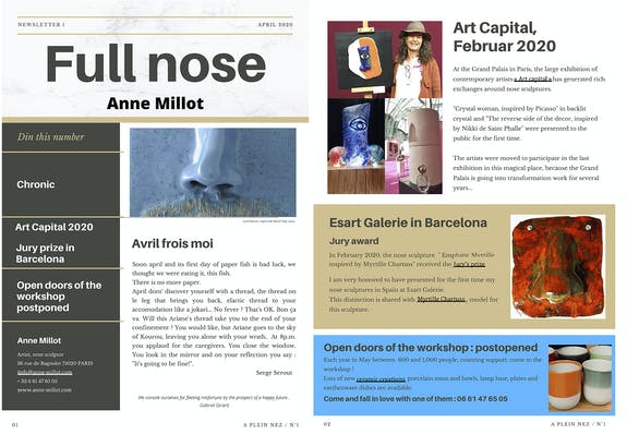 Newsletter 1 Full nose