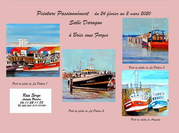 Peinture Passionnément à Briis sous forges du 24 février au 2 mars 2020