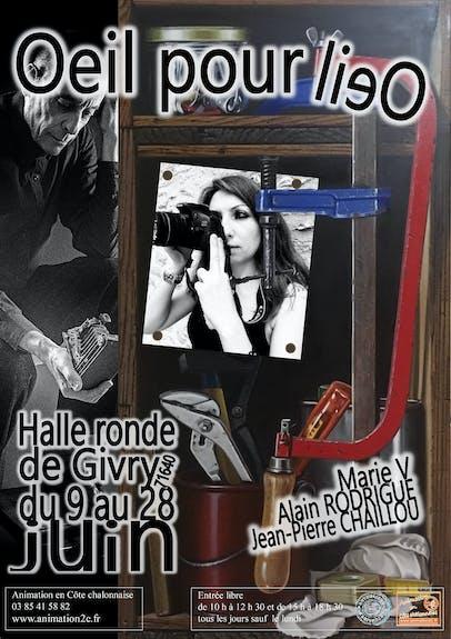 Expo du 9 au 28 juin 2020 à la Halle Ronde à Givry