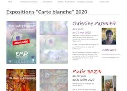 Carte Blanche à l'Espace Monet Rollinat de Fresselines en 2021