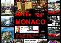 Exhibit in Art 3f Monaco 21-23 Août 2020