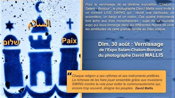"Expo Photo ""Salam - Chalom - Bonjour"""