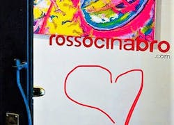 Exibition in roma Gallery Rossocinabro 2020