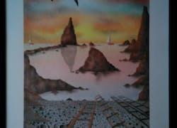 Arrecife de las sirenas. Cabo de gata. Almeria