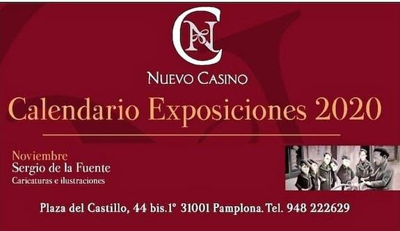 «Exposición de arte en Nuevo Casino de Pamplona»