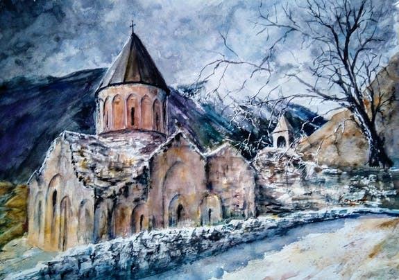 Art For Armenia - Online Charity Auction