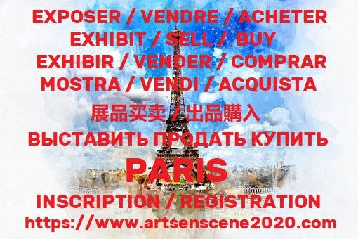 Expos paris janvier 2021 a avril 2021