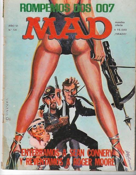 Ilustración revista mad