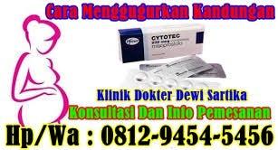 Klinik aborsi di jawa barat - 081294545456 Obat Aborsi Cytotec