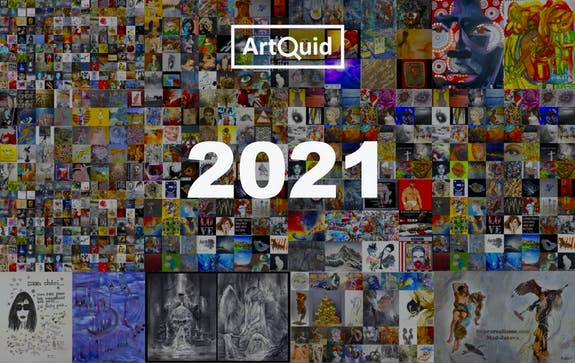 ArtQuid wishes you a Happy New Year 2021!