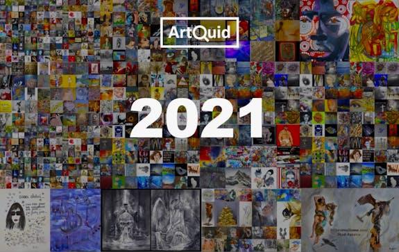 ArtQuid wünscht Ihnen ein frohes neues Jahr 2021!