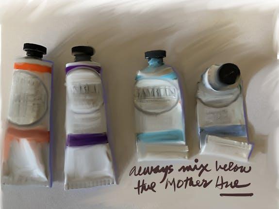 Always Mix Below the Mother Hue