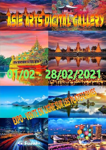 Asie arts digital gallery