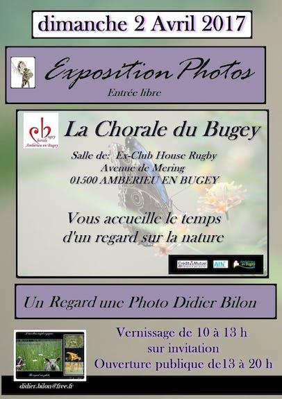 Un regard une photo Didier Bilon- Vernissage expos photo du 02 avril 2017