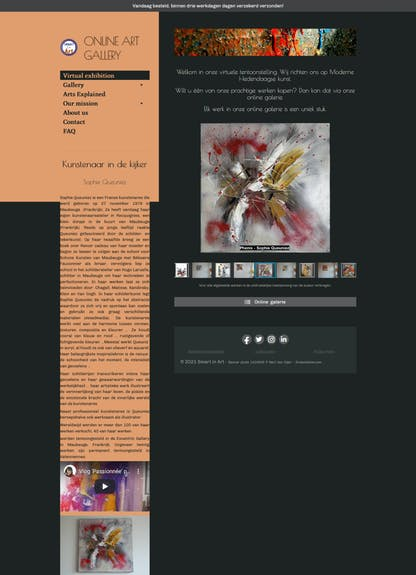 L'artiste du mois sur la galerie smart in art