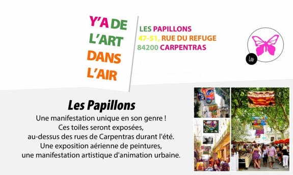 13Th edition Butterfly Festival (les papillons) - y'a de l'art dans l'air