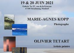 Expo photos/peintures à la galerie «Le 22», Strasbourg