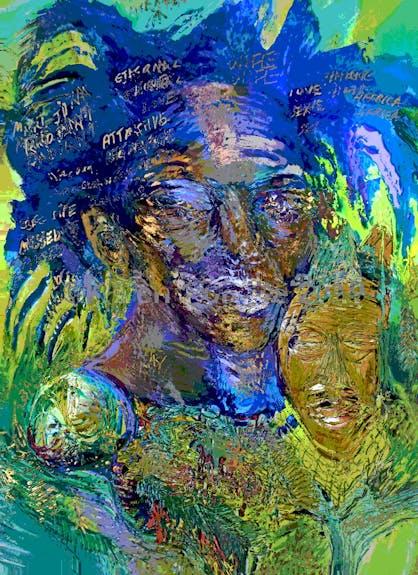 Basquiat la machine à argent du marché de l'art Karen Colville, Canadian Artist