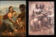 Загадки Леонардо Анна - втроем