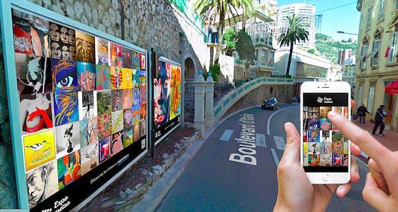 Expo métro Monaco
