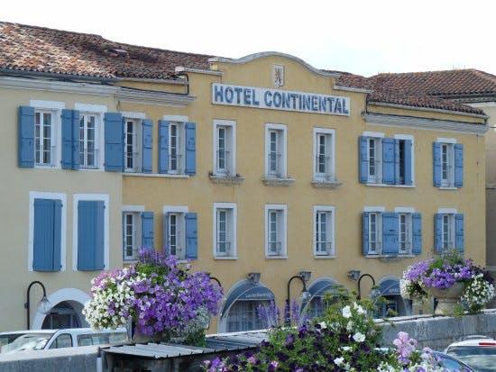Hôtel Restaurant Le Continental *** Condom - Gers