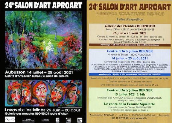 24Ème Salon d'Art et d'Expression Contemporaine 23200 aubusson