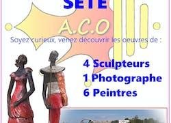 Expo : Mont st Clair - salle des pèlerins