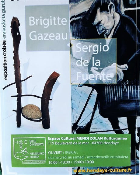 «Exposición Cruzada» Sergio de la Fuente - Brigitte Gizeau