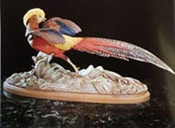 American figurative expressionist porcelain sculptor, Edward Marshall Boehm.