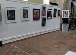 Exposition à la tour Hexagonale du Luc en Provence