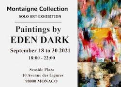 Exposition Eden Dark 2021 Galerie Novitskiyart Monaco