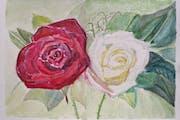 Regalar arte y flores a la vez.